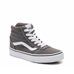 Vans Ward Grey Hi Top Toddler Size 12